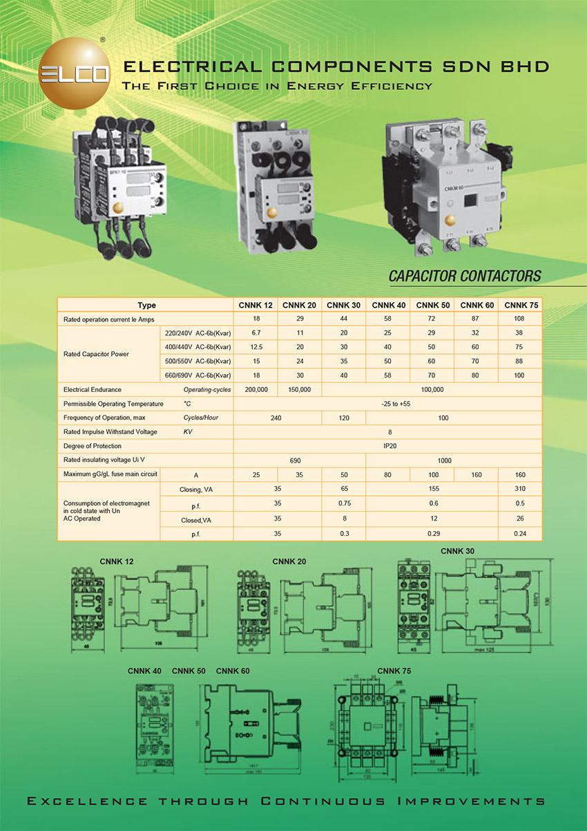 Capacitor-Duty-Contactors